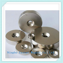 Permanent Ring Neodymium Magnet with Nickel Plating