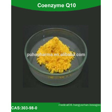 Supply High purity Coenzyme Q10(q10 coenzyme powder, raw material coenzyme q10