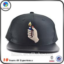 Popular Snapback Caps Oem Flat Brim Embroidery Snapback Caps