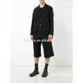 Потертые отделкой куртка пальто куртка Blazer классический костюм мужской фитнес жилет