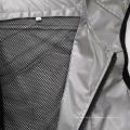 Silber reflektierende Sport-Sicherheitsweste für Outdoor-Aktivitäten