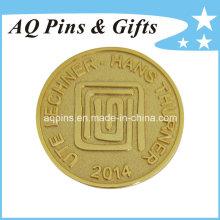 Moedas comemorativas do ouro da promoção do costume (coin-083)