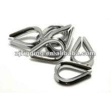 Tipo de cable de acero inoxidable de EE. UU. Dedal
