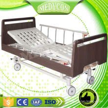 Two functions wooden home care manual nursing bed for old people hospital beds for the home