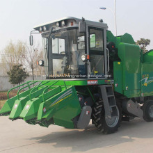 self-propelled maize corn combine harvester