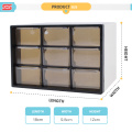 shunxing new arrival tabletop storage mini plastic box with multi drawer