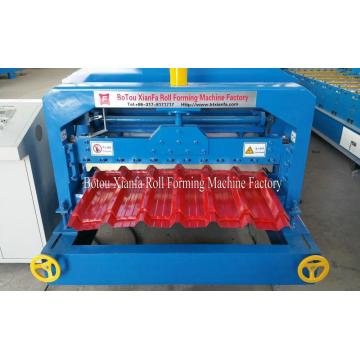 Croatia style Glazed Tile Roof Roll Forming Machine