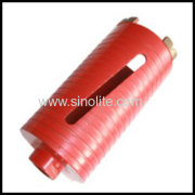 Diamond Segmented Core Drill Size 25-152mm With Diamond Segmented Cutters For Professional Users