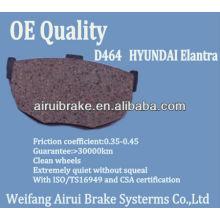 D464-7344 Hyundai Elantra brake pad maker
