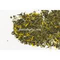 Chá de Rooibos recentemente vendido com cordas de flores de calêndula Chá misturado