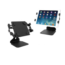 Metal material universal tablet stand for Ipad/POS,multifunctional tablet kiosk stand