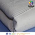 Ungebleichte grau Natur Baumwolle Uni Textil