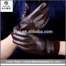 China Wholesale Custom mens short leather gloves