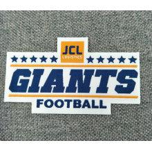 Etiqueta tecida vestuário personalizada fábrica da roupa