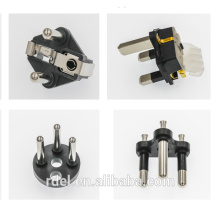 china supplier Germany/French/turkey Type plug inserts Rohs Compliance vde ce soild hollow pins