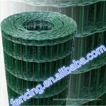 High quality Private grounds Hot dipped Galvanized Low carbon steel Euro fence