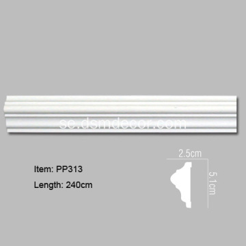PU Flexibel Panel Moulding