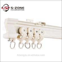 ivory white aluminum curtain rails tracks