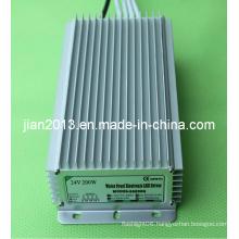 24V 200W High Power IP67 Waterproof LED Strip Power Supply