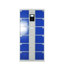 12 armarios de almacenamiento de acero revestidos de polvo de la puerta armario de compartimientos de almacenamiento barato