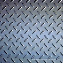 ASTM A36, ASTM A572 Plaques en acier à damier / Plaque en acier au sol