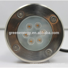 480lm ip67 inground light, cannular outdoor led inground light 7w, high power led sourse