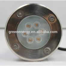 A luz do inground do 480Lm IP67, luz conduzida exterior 7w do canground do inground, poder superior conduziu o sourse
