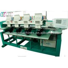 4 cabeças máquina de bordar computadorizada para o tampão & t-shirt