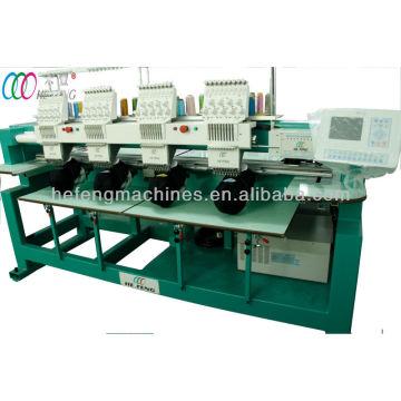 4 Köpfe computergesteuerte Stickmaschine für Cap & T-Shirt