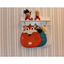 Baño del bebé Organizador de juguetes de baño colgando de baño titular de juguete para bañera con 2 ventosas fuertes y bolsa de almacenamiento de juguetes de baño grande