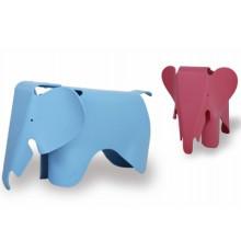 Elefante en forma de silla de plástico para niños