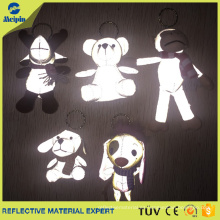 Custom Animal Reflectors Toy Keychain para Niños
