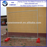 China hot sale 2100x2400mm popular galvanized movable temporary fence for Australia