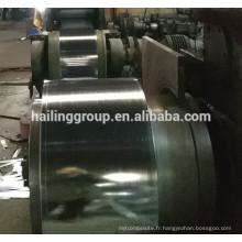 prix en acier galvanisé par tonne en acier galvanisé bobine z275