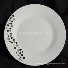 wholesale bulk dinner plate,chinese porcelain plate,linyi porcelain plate