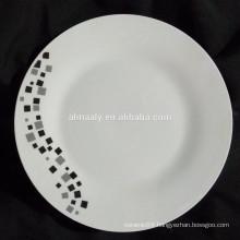 wholesale bulk dinner plate,chinese porcelain plate,linyi porcelain plate