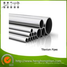 Preço do tubo de titânio sem costura Gr2 Gr5 Gr9