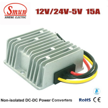 12VDC 24VDC to 5VDC 15A DC-DC Power Supply Converter