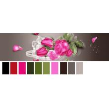 свежий цвет новый 3D дизайн разогнать напечатано 100 полиэстер щеткой ткань