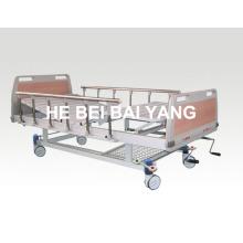 (A-54) - Lit d'hôpital à double fonction fonctionnel avec tête de lit ABS