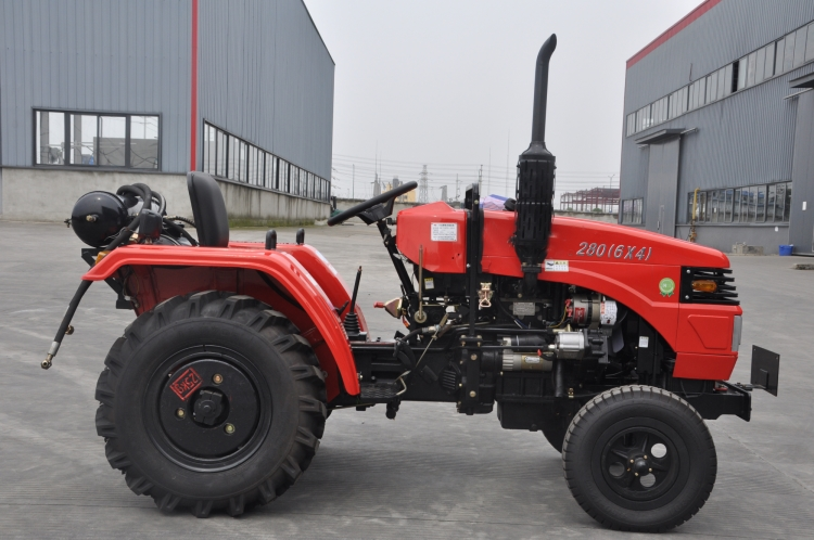 Hot Selling 2 Wheel Drive 28HP Walking Farm Tractors