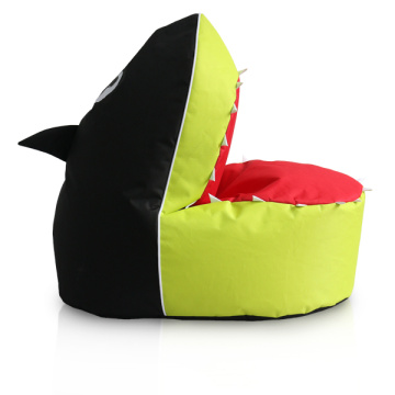 professional factory for China Funny Bean Bags,Football Bean Bags,Animal Bean Bags,Fun Bean Bags Manufacturer and Supplier Fashion lime color bean bag shark for kids supply to Nigeria Suppliers