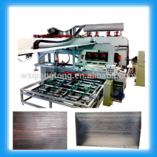 1830x3660mm laminado automático de doble lado línea de prensado / melamina laminado línea de producción de paneles