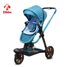 Poussette bébé avec cadre et siège régulier