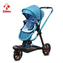 Детская коляска с рамой и обычное место
