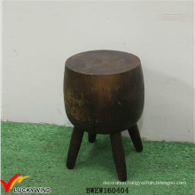 Unique Antique Wood Stump Stool Furniture