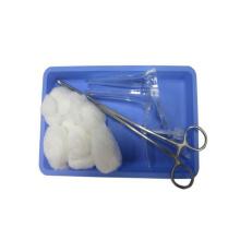 Одноразовый стерильный набор для ухода за ранами