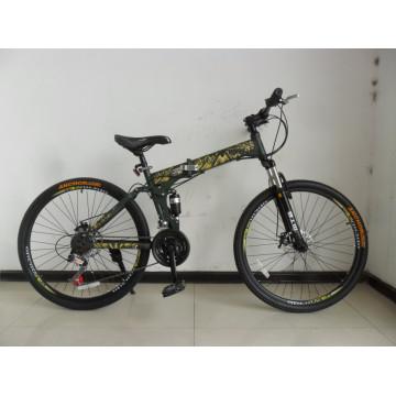 Nueva suspensión y bicicletas de montaña plegables (FP-MTB-A022)