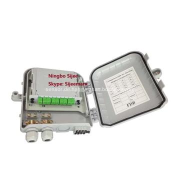 Kunststoff FTTX Innen- / Außen-Faseroptik-Terminierungsboxen