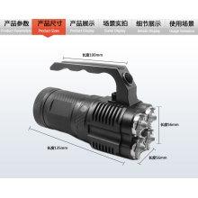 Vente chaude JEXREE 18650 Lampe torche rechargeable 40w lampe torche à LED puissante